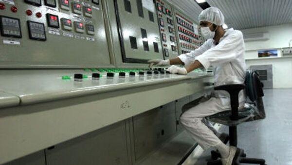 Il tecnico iraniano  nello stabilimento di conversione dell`uranio - Sputnik Italia
