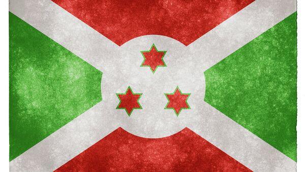 Burundi Grunge Flag - Sputnik Italia