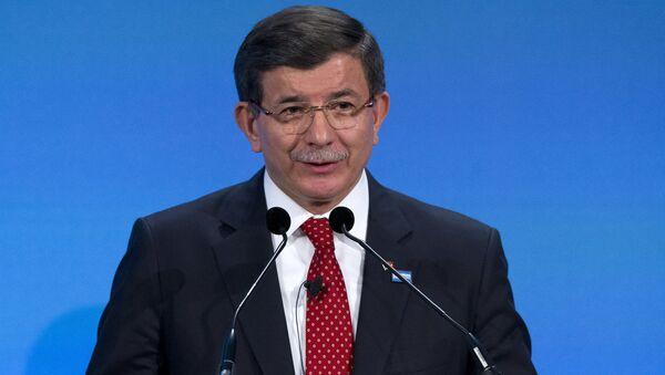 Premier turco Akhmet Davutoglu - Sputnik Italia