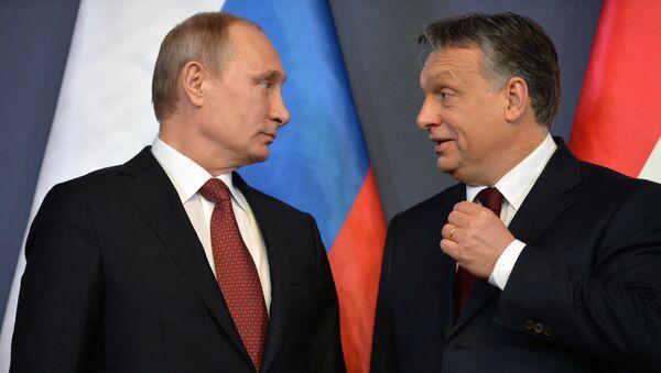 Vladimir Putin e Viktor Orban - Sputnik Italia