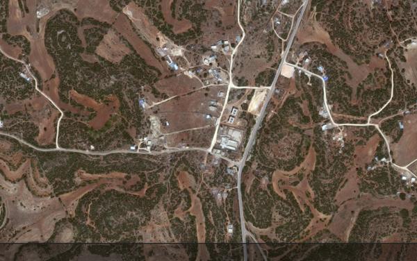 La zona dove iniziarono i cantieri di Sidi al Hamri fotografata da Google Maps oggi - Sputnik Italia