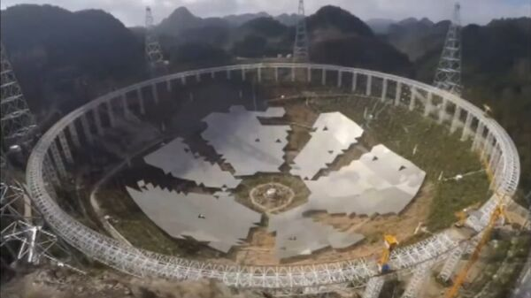 Five-hundred-meter Aperture Spherical Telescope (FAST) - Sputnik Italia