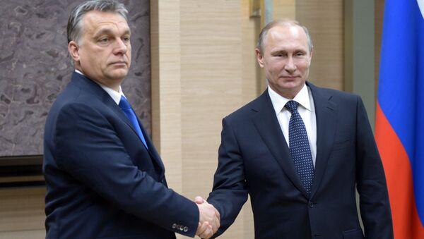 Viktor Orban e Vladimir Putin - Sputnik Italia