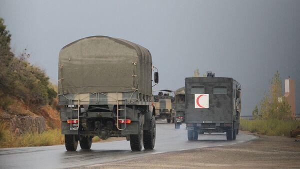 Camion militari in Algeria - Sputnik Italia