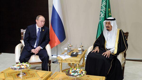 Putin e re saudita Salman bin Abdulaziz Al Saud - Sputnik Italia