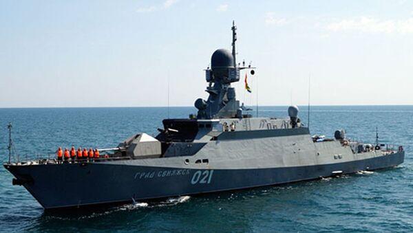 Nave del progetto №21631 Buyan-M - Sputnik Italia