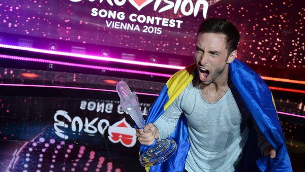 Måns Zelmerlöw: vincitore di Eurovision 2015 - Sputnik Italia