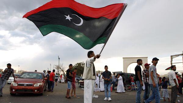 La bandiera libica - Sputnik Italia