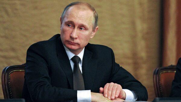 Putin durante riunione con vertici FSB - Sputnik Italia