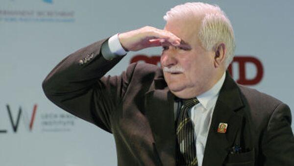 Ex presidente polacco Lec Walesa - Sputnik Italia