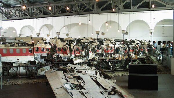 I rottami del DC-9 Itavia I-TIGI precipitato a Ustica - Sputnik Italia