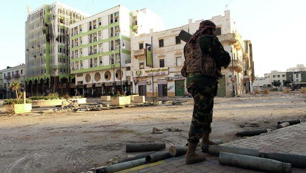 Un soldato a Bengasi - Sputnik Italia