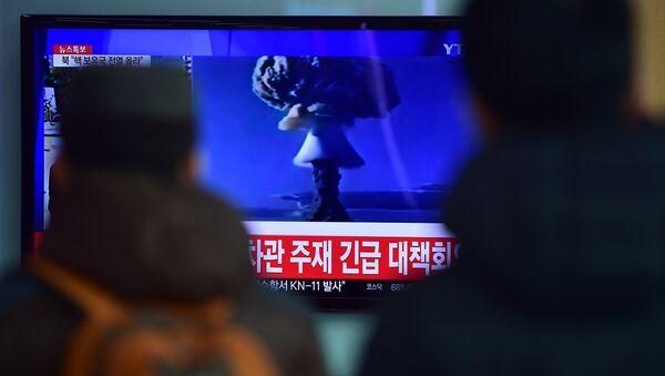 Test della prima bomba all'idrogeno della Corea del Nord - Sputnik Italia