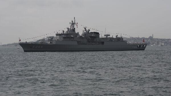 Fregata della Marina militare della Turchia - Sputnik Italia