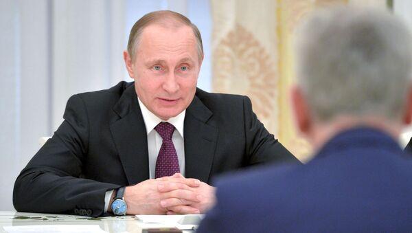 Incontro tra presidenti di Russia e Serbia al Cremlino - Sputnik Italia