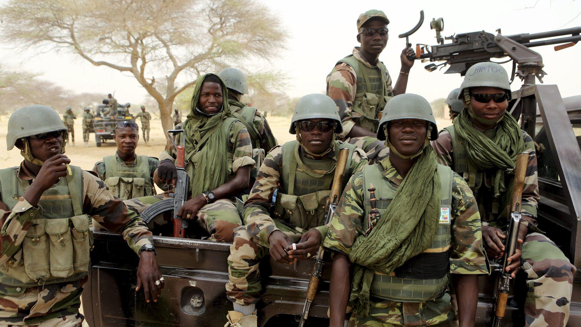 Nigerien special forces prepare to fight Boko Haram in Diffa March 26, 2015 - Sputnik Italia, 1920, 25.09.2021