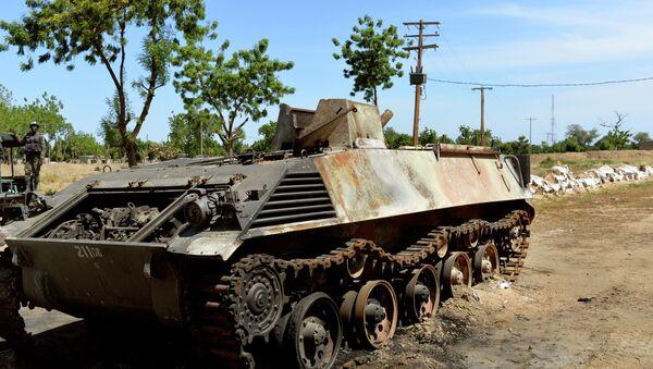 Carro armato di Boko Haram - Sputnik Italia