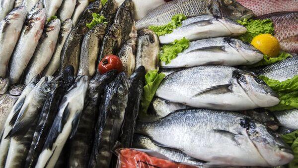 Pesce al mercato - Sputnik Italia
