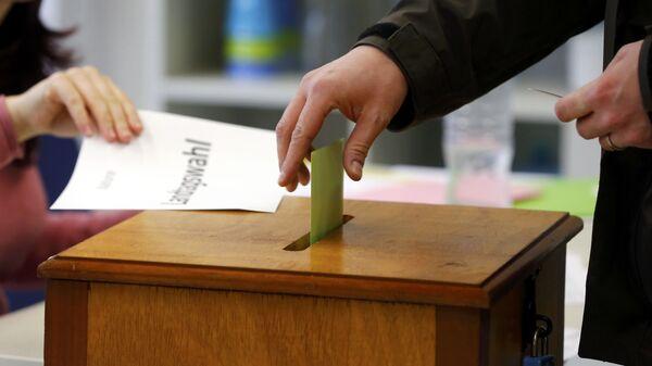 Elezioni regionali in Germania - Sputnik Italia