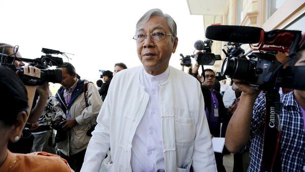Htin Kyaw, nuovo presidente della Germania - Sputnik Italia