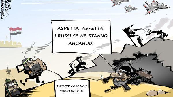 Il ritiro dei militari russi dalla Siria - Sputnik Italia