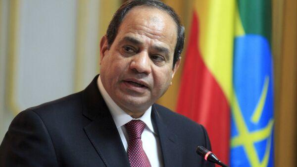 Il presidente egiziano Abdel Fattah al-Sisi - Sputnik Italia