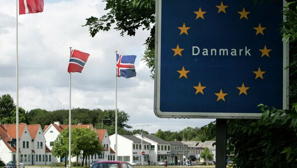 Alla frontiera tedesco-danese - Sputnik Italia