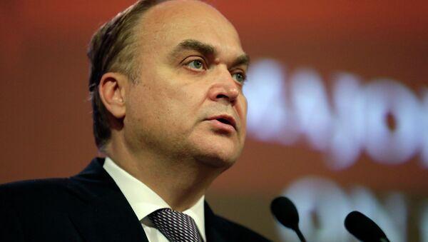 L'ambasciatore russo negli USA Anatoly Antonov - Sputnik Italia