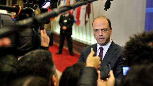 Il Ministro degli Interni Angelino Alfano - Sputnik Italia