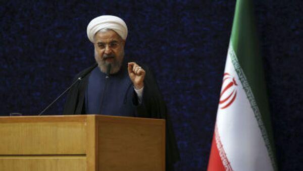 Il presidente Hassan Rohani ha ribadito l'indisponibilità a seguire la road map disegnata a Losanna - Sputnik Italia