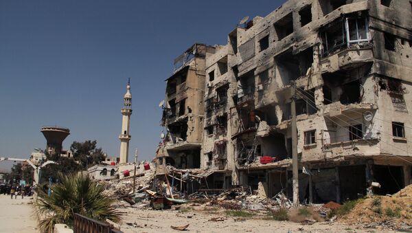 L'Olp non vuole che rifugiati palestinesi del campo di Yarmouk vengano coinvolti nella guerra civile che insanguina la Siria - Sputnik Italia