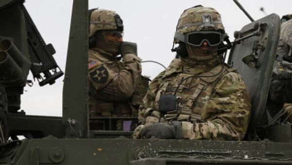 Le esercitazioni della NATO in Lituania. il 23 marzo di 2015 - Sputnik Italia