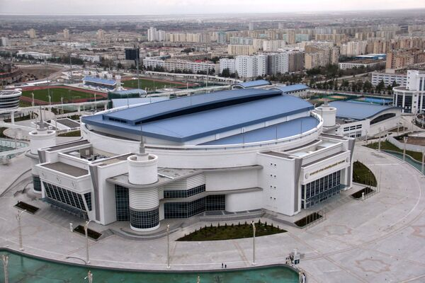L'arena multisport del parco olimpico di Ashgabat - Sputnik Italia