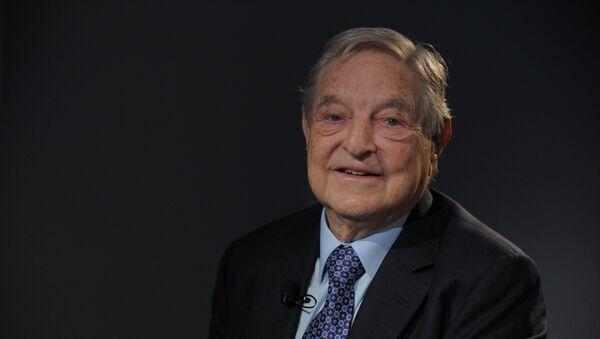 Il Quantum Strategic Partners di George Soros è uno dei tre soggetti in lizza nell'asta in Italia. - Sputnik Italia