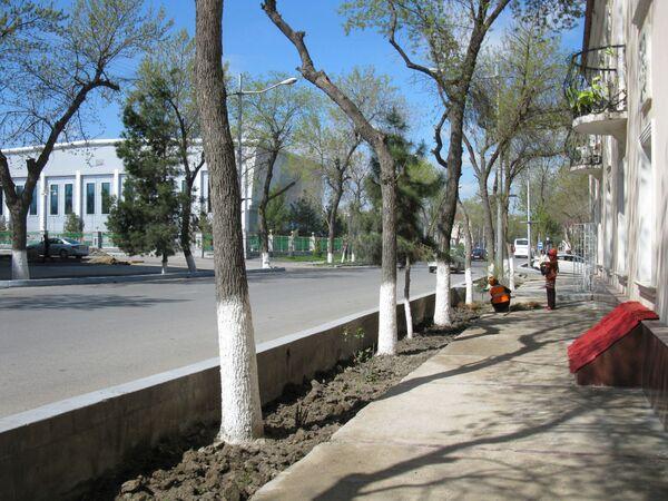 Ashgabat, la centrale via Lenin - Sputnik Italia