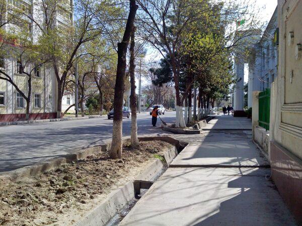 Ashgabat, uno scorcio della centrale via Lenin - ora Azady - Sputnik Italia