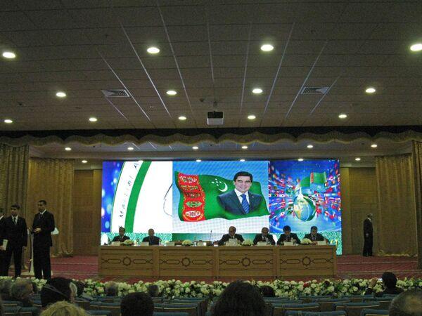 Ashgabat, un momento della conferenza Asiada 2017 - Sputnik Italia