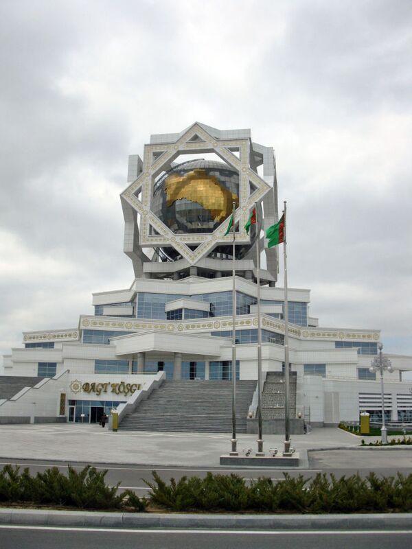 Ashgabat l'edificio dove vengono celebrati i matrimoni - Sputnik Italia