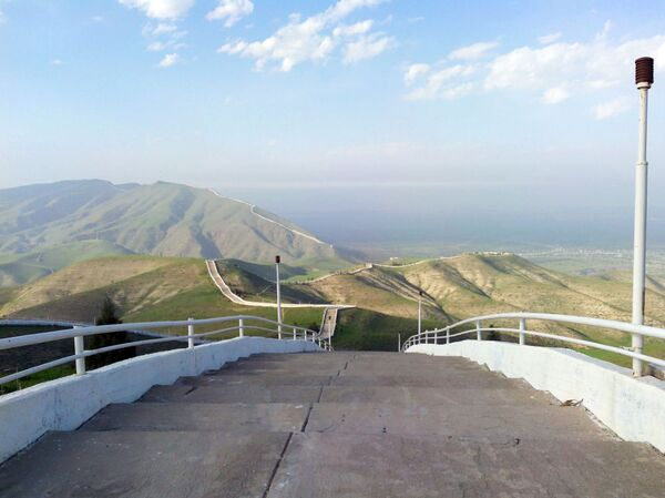 Ashgabat, veduta della Scala della Salute - Sputnik Italia
