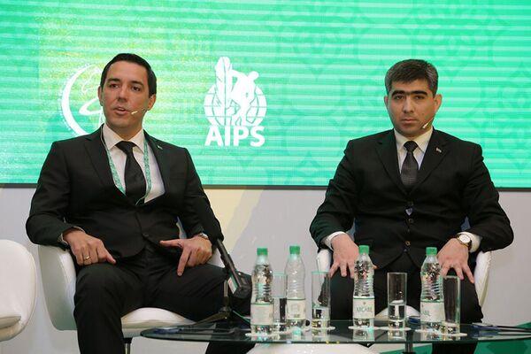 Turkmenistan International Sports Media Forum - Sputnik Italia