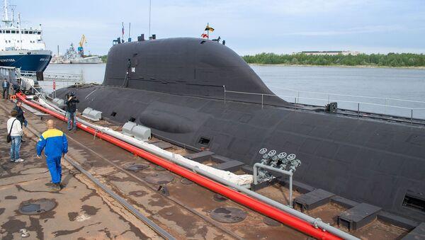 Sottomarino nucleare russo del progetto Yasen - Sputnik Italia