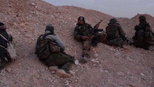 Боевые действия сирийской армии в окрестностях Пальмиры - Sputnik Italia