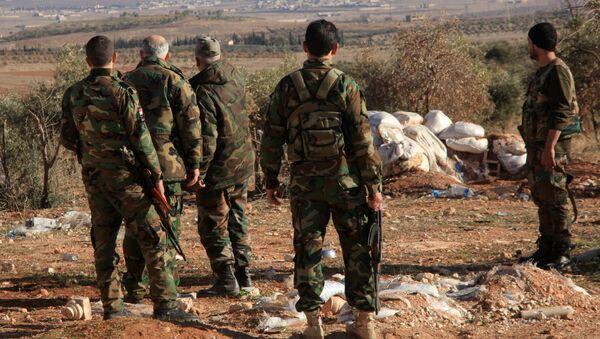 Syrian Army Repels Daesh Attack Near Deir ez-Zor Airbase - Sputnik Italia