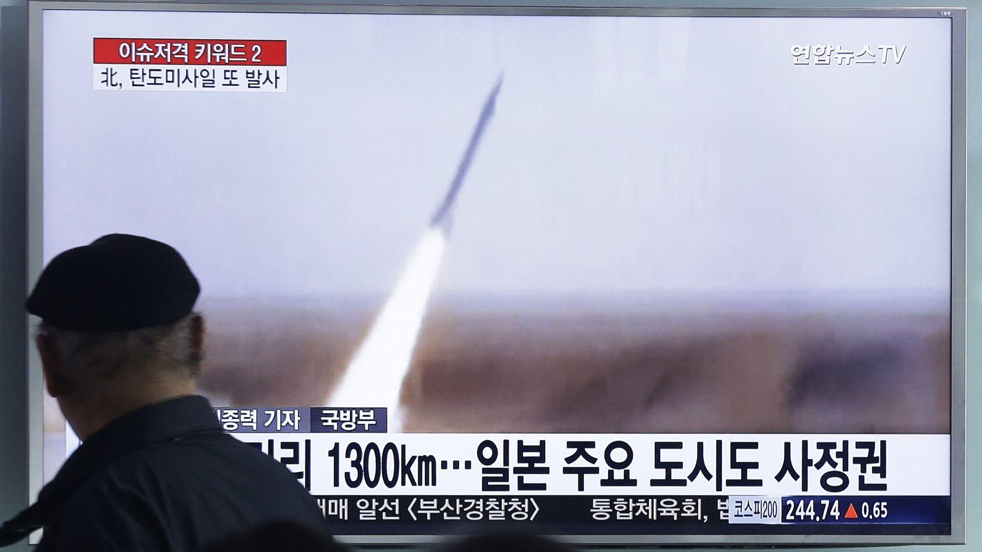 Corea del Nord, lancio di un missile - Sputnik Italia, 1920, 28.09.2021