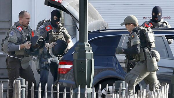 Polizia a Bruxelles - Sputnik Italia