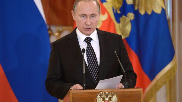 Il presidente della Federazione Russa Vladimir Putin - Sputnik Italia