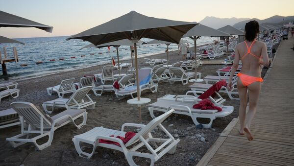 Russian tourists in Antalya - Sputnik Italia