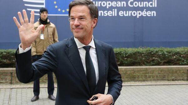Il primo ministro olandese Mark Rutte - Sputnik Italia