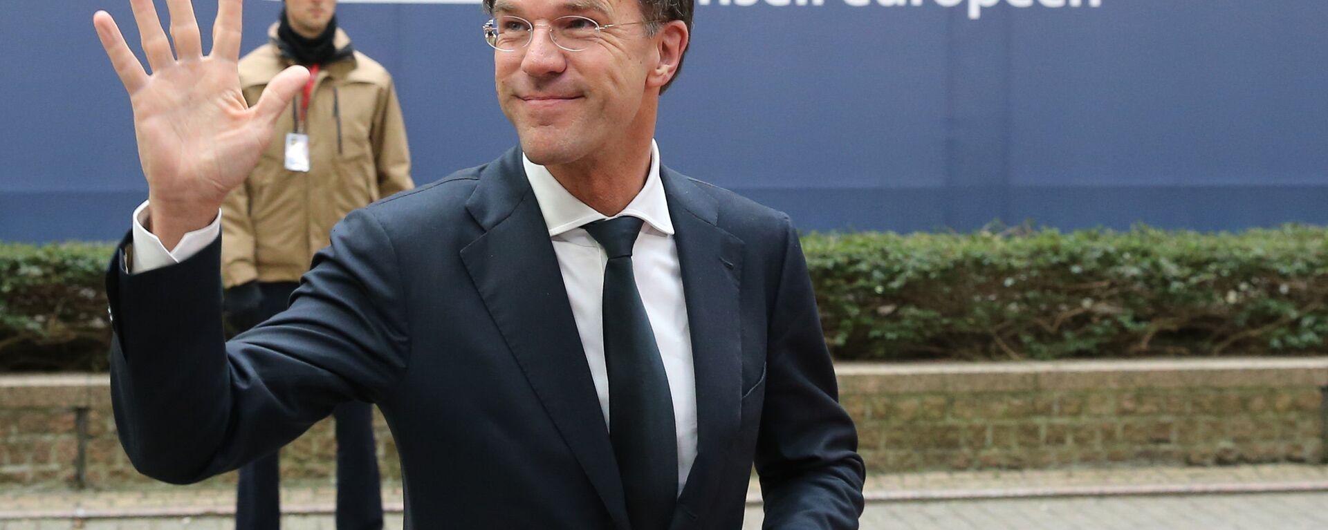 Il primo ministro olandese Mark Rutte - Sputnik Italia, 1920, 27.09.2021