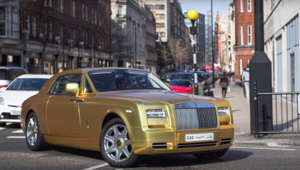 Macchine d'oro a Londra - Sputnik Italia